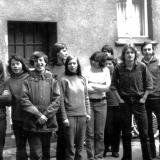 Jahreswechsl in Kstaven 1973 zu 74